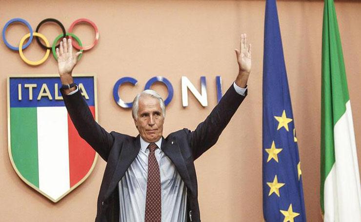 Giovanni Malagò confermato Presidente del CONI